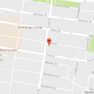 map of Victoria location of Dr Mark Wensley Chiropractor